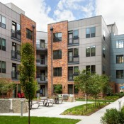 The CityWay Apartments in downtown Indy, one of many projects attracting young professionals
