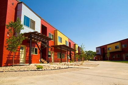 Affordable apartments in Moab, Utah. Photo: Bryan Bowen ...