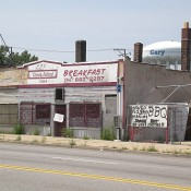 Gary Indiana, once a booming steel town, now suffers from blight and abandonment
