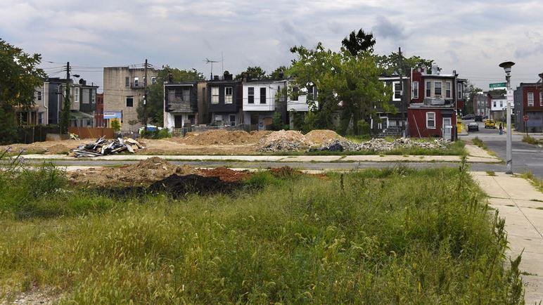 A vacant lot in the Oliver neighborhood. Barbara Haddock ...