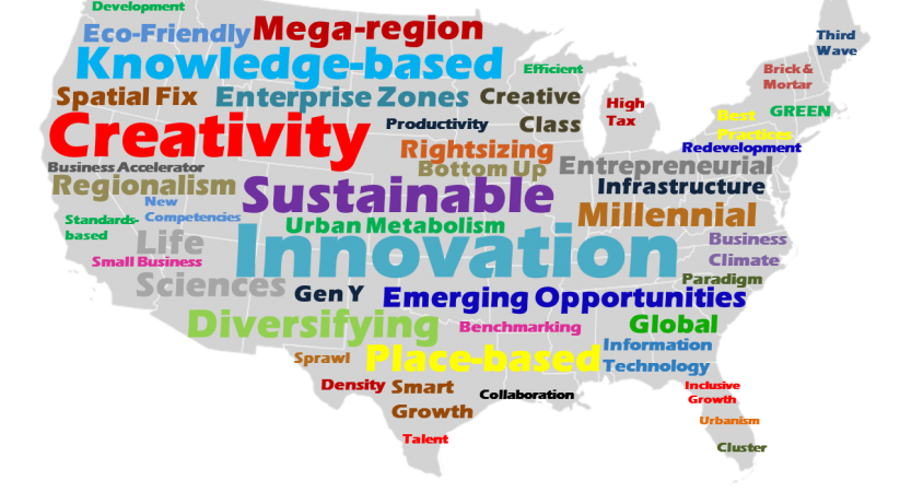 Innovation In Economic Development New Incentives For The St - Us word map