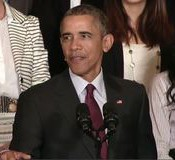 President Obama announces a series of initiatives