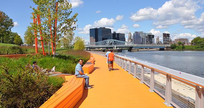 Riverfront Park In Newark Nj