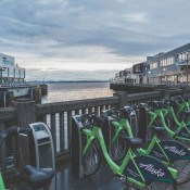Pronto bike-sharing station in Seattle. Photo: Tony Webster