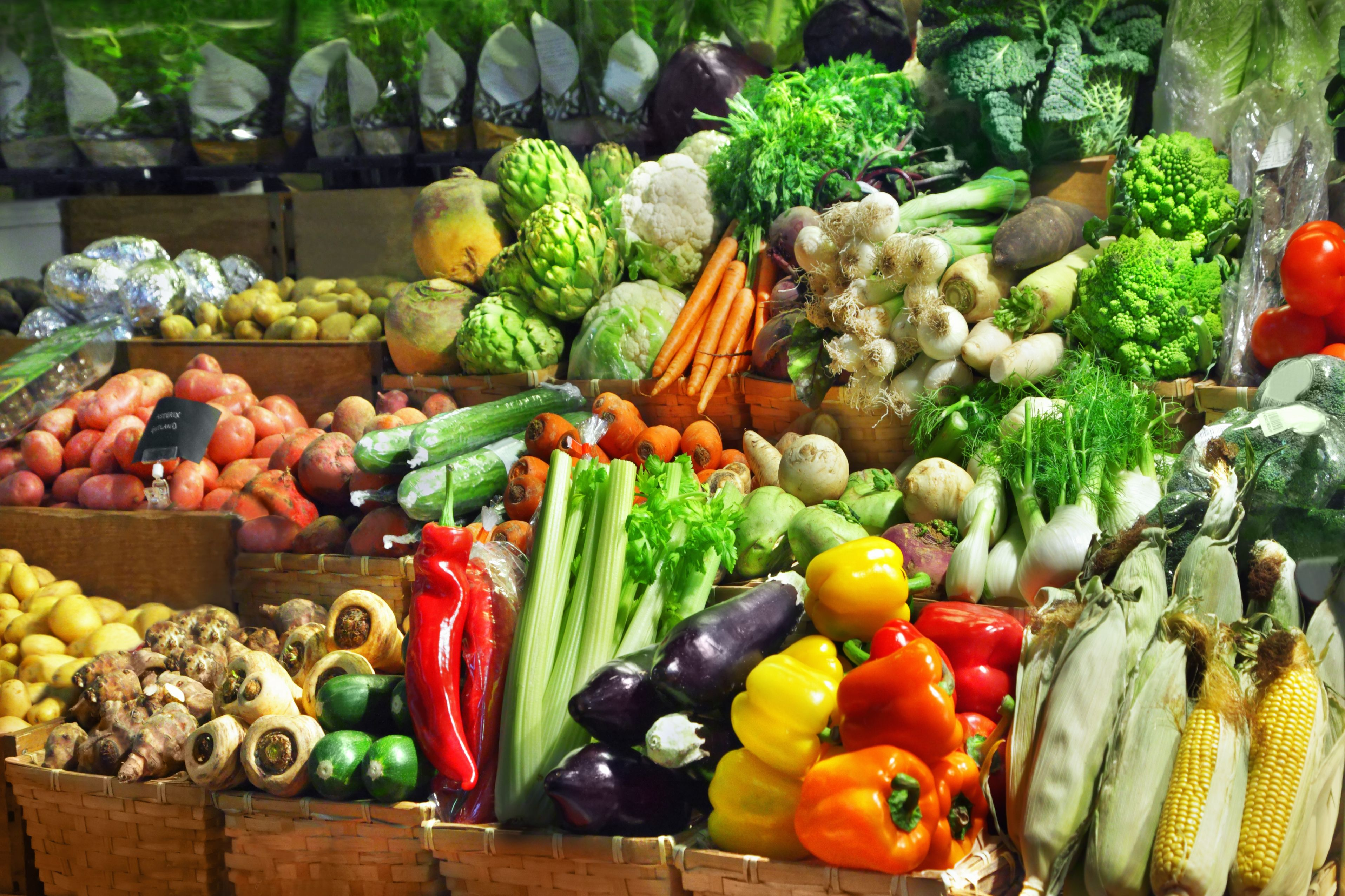 Locally grown food supply for Cuisine equipement