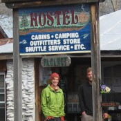 Uncle Johnny's Hostel, a tourism based business in Unicoi County. (Credit: theathiker.com)