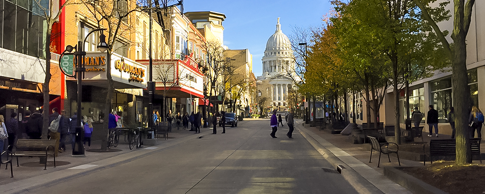 Dane County Includes The City Of Madison, Wisconsin