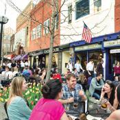 Downtown Ann Arbor, Michigan (Credit: Leisa Thompson/Downtown Development Authority)