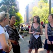Union Square – a frequently used Place Game site during PPS's Placemaking trainings (Image by PPS)