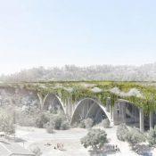 A concept for the redesign of a bridge in Pasadena
