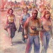 walk-illustration