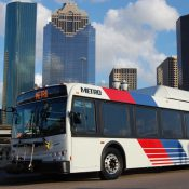 METRO bus in Houston