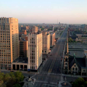 Downtown Detroit (Credit: National Trust for Historic Preservation)