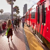 San Diego light rail (Credit: colorblindPICASO / Flickr)