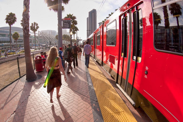 San Diego Light Rail Credit Colorblindpicaso Flickr