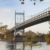 Astoria Park, in Astoria, Queens, a neighborhood that the new ferry will serve (Credit: Marley White)