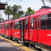 San Diego Blue Line trolley (Credit: Jasperdo / Flickr)