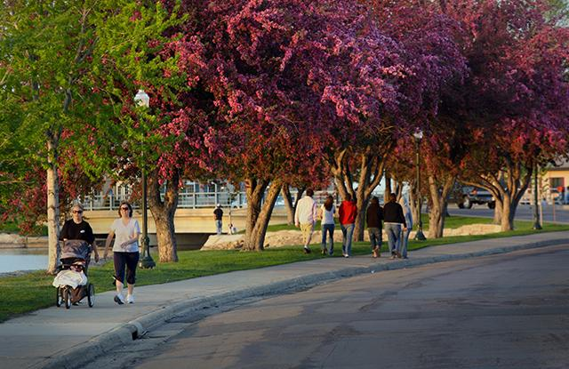 Albert Lea, Minnesota, is a walkable rural community (Courtesy of Blue Zones)
