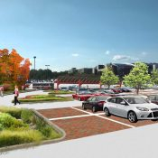 University of Maryland's Campus RainWorks Challenge entry, Performance Parking: Reimagining Lot 11B, won first place in the Demonstration Project category in 2015