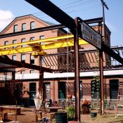 The Steel Yard in Providence, Rhode Island, is a past winner, for its adaptive reuse that created an industrial arts campus and small business incubator
