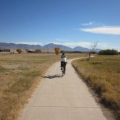 The El Paso Metropolitan Planning Organization wants to complete more trails like this one, along the Rio Grande, throughout the region. (Credit: El Paso Southwest)