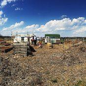 The Flippin School District Community Garden in Flippin, AR. (Credit: EPA)