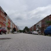 Baltimore's Oliver neighborhood (Photo by Oscar Perry Abello)