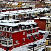 Rowhouses in Philadelphia (Source: The Philadelphia Citizen)