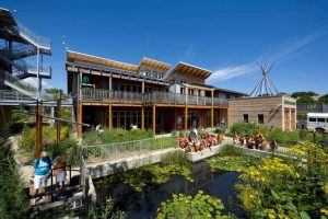 The Riverside Park branch of the Urban Ecology Center, Milwaukee, Wisconsin (Credit: Urban Ecology Center)