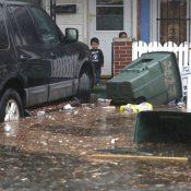 Atlantic City flooding (Credit: Viviana Pernot / Press of Atlantic City)