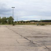 Empty parking lot (Source: Strong Towns)