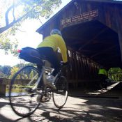 Fallasburg Covered Bridge (Lowell, Michigan) along the North Country Trail/Iron Belle Trail (Tom Pidgeon Photography)