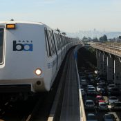 San Francisco BART train (Reuters / Robert Galbraith)