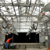 A greenhouse that's part of the Danforth Plant Science Center (Laurie Skrivan / The St. Louis Post-Dispatch)