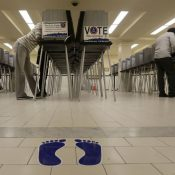 In San Francisco, voters passed two propositions to support transit service expansion. (AP Photo/Jeff Chiu)