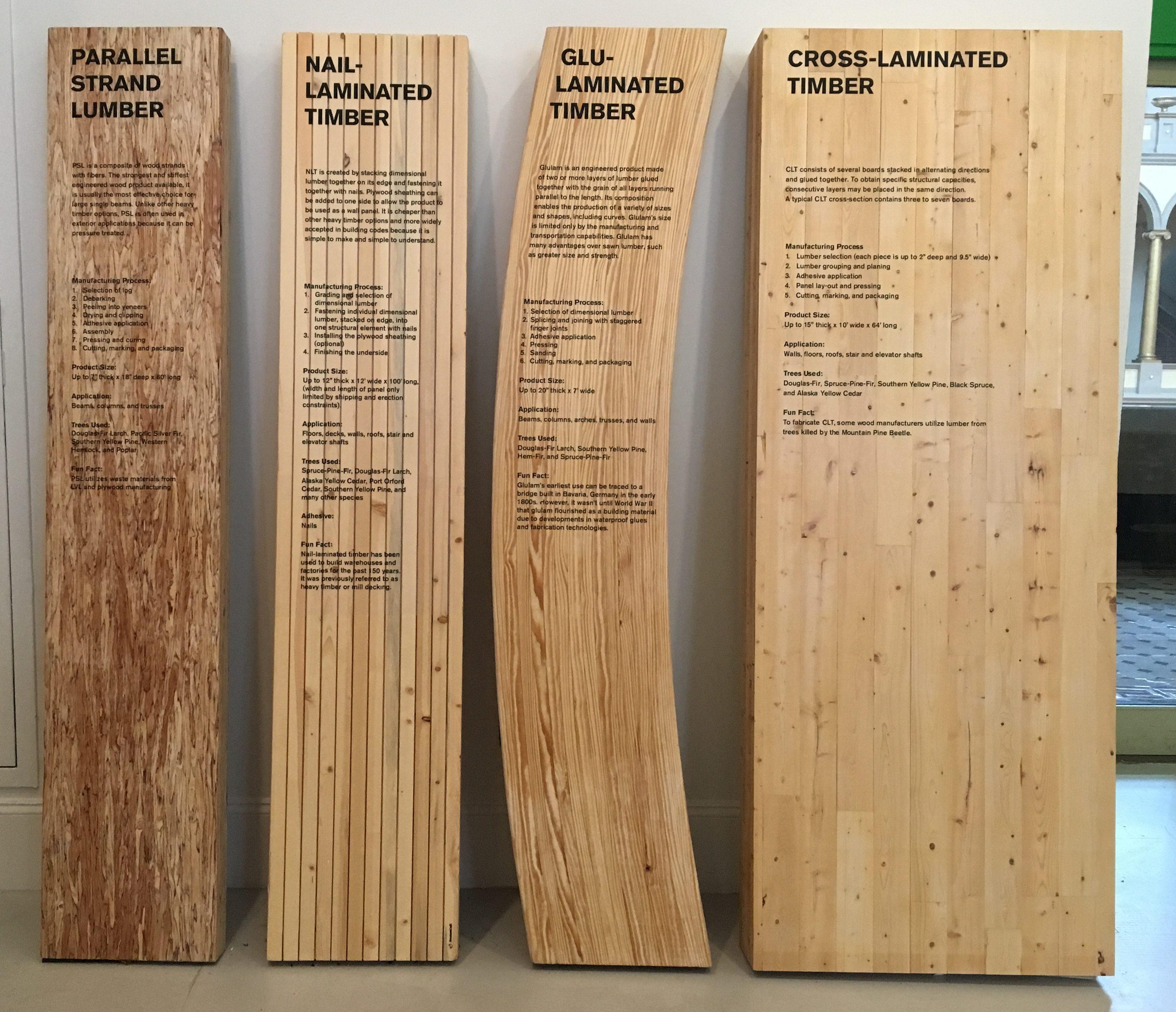 Types Of Wood Technology Cristina Davia Smart Growth