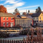 From 1819 to 1898, Zoar, Ohio, was home to German religious dissenters. (Credit: Andy Donaldson)