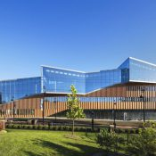 Kent State University's new Center for Architecture and Environmental Design opened for classes in 2016 (Albert Vecerka/Esto)