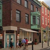 Rowhouses and mixed-use buildings in Philadelphia. (Source: National Trust for Historic Preservation)