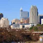 The Southern Gateway's iconic view of downtown Raleigh (Source: Smart Growth America)