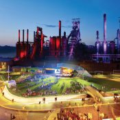 SteelStacks Arts and Cultural Campus in Bethlehem, Pennsylvania, a 2014 winner (Source: ULI)
