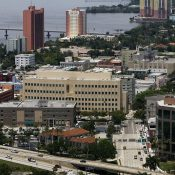 Downtown Fort Myers, also known as The River District (Andrew West / The News-Press)