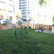 Biscayne Green pop-up park (Source: CBS4)