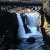 Paterson's iconic Great Falls (Credit: NorthJersey.com)