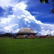 The Samoan parliament building located in Apia, Upolu Island. (Credit: Stefan Lins, licensed under CC BY-ND 2.0)