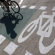 Bike lane (Jim Young / Reuters)
