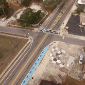 Pop-up street features in Clearwater, Florida (83 Degrees Media)