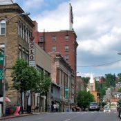 Downtown Morgantown, WV (Source: weheartwv.com)