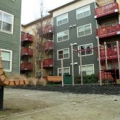Esperanza Court in Portland was once a hidden landfill and now provides affordable housing for 70 families in Southeast Portland (Source: Oregon Metro)