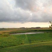 Rural farmland near Gibson, Iowa (Credit: James Arentson)